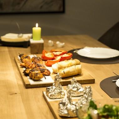 Servierbrett 3er Set groß und klein | Eiche Küchenbrett
