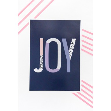 """JOY""-Poster, Fine-Art-Print"
