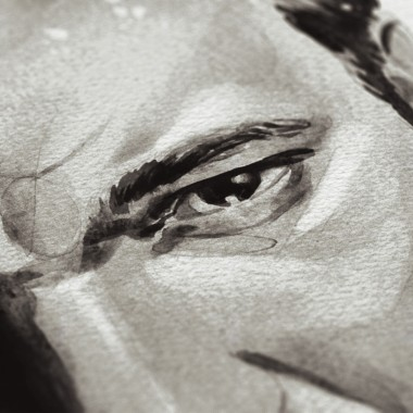 Movie Director Portrait Print, Quentin Tarantino