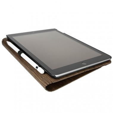 JUNGHOLZ Design WoodCase, Tablet, Walnuss, iPad 5. & 6. Generation