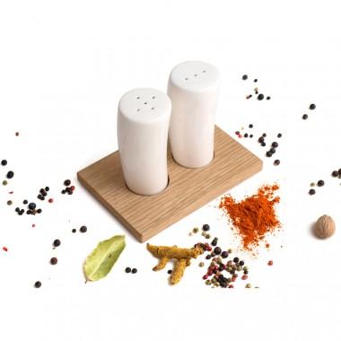 Salz- und Pfefferstreuer Duo (Eiche)