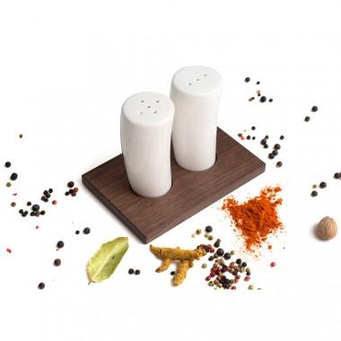 Salz- und Pfefferstreuer Duo (Nussbaum)