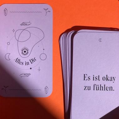 """studiofeelGOODS – Kartendeck """"Alles in Dir"""" (40 Affirmationen für deinen Alltag)"""