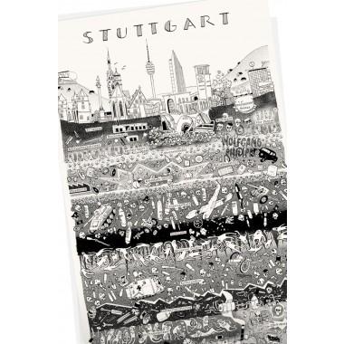 Wolfgang Philippi Stuttgart Plakat