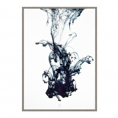 SUDDEN movement - blue Artprint A3, 50x70, A1 Poster