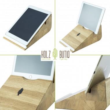 Tablet Halter tablojdo 10, iPad Halter aus Holz | Tablet Halterung 10 Zoll