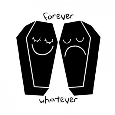 TEMPORARY TATTOO - FOREVER WHATEVER (SET OF 2)