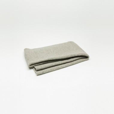 The Yak Down Scarf Premium Yakwolle platingrau – ungefärbt