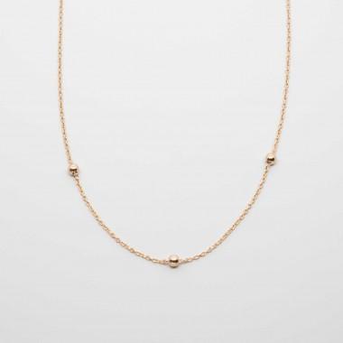 fejn jewelry - Triple Ball Necklace