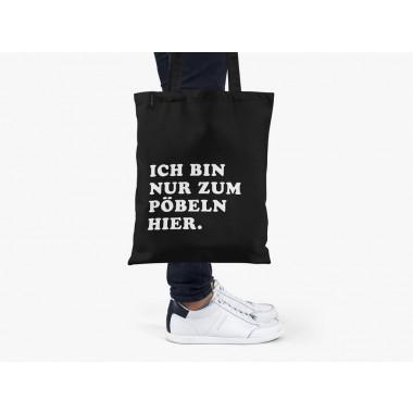 typealive / Baumwolltasche / Pöbeln