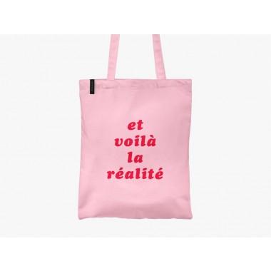 typealive / Baumwolltasche / Réalité / Pink