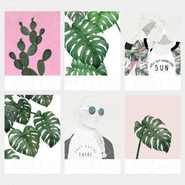 typealive / Wandkalender 2017 Tropical