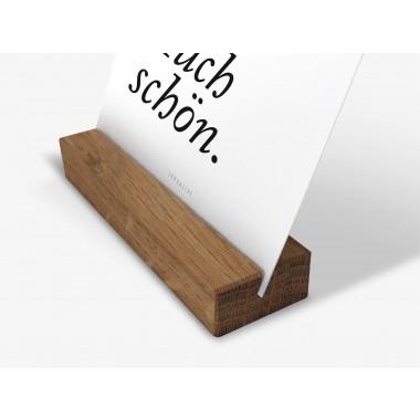 typealive / Postkartenhalter / Eiche