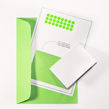 TYPOP 5-teiliges Set Design ADVENTSKALENDER-KARTE Tannenbaum