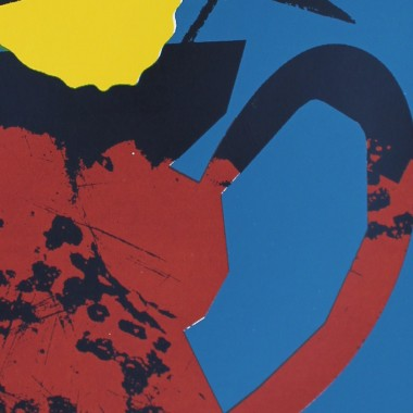 Print now - Riot later ● Vase #2 Siebdruck