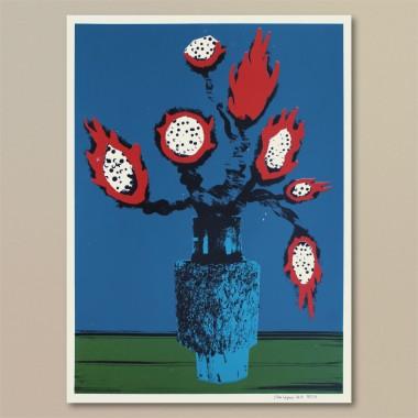 Print now - Riot later ● Vase #4 Siebdruck