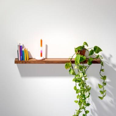 weld & co Wandregal Nussbaum 01 für leichtbau Wände