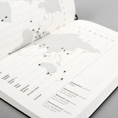 tyyp Kalender 2019 - Grau, DIN A5, Handmade