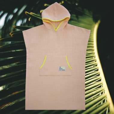 We Make Patterns - Handtuch Poncho Peach