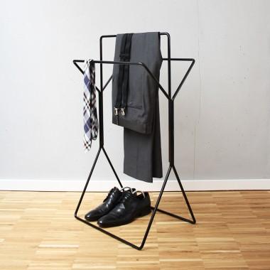 wingman - Design Handtuchhalter und Stummer Diener (verchromt oder matt verchromt)