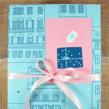 "Bow & Hummingbird Geschenkpapier ""Winter Wonder"""
