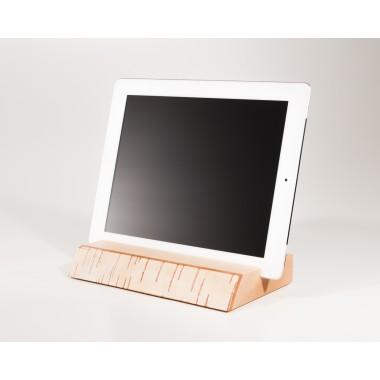 Halterung / Halter für iPad und tablet aus Holz