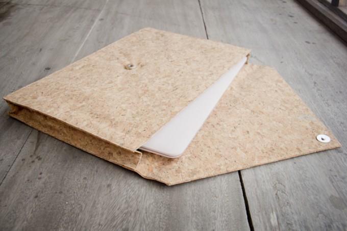 Kork Laptop Hülle, MacBook Tasche, Case für 13 - 14 Zoll BY COPALA