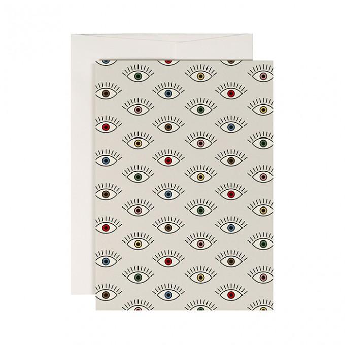 redfries eyecatcher – Klappkarte DIN A6 mit Umschlag