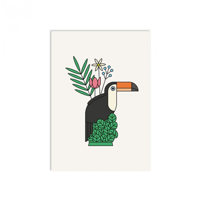 redfries touc touc – Postkarte DIN A6