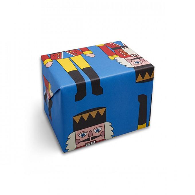 redfries wrap nutcracker – Geschenkpapier DIN B2, 3 Bögen