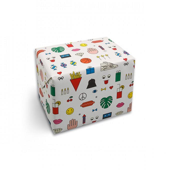 redfries wrap birthday mix – Geschenkpapier DIN B2, 3 Bögen