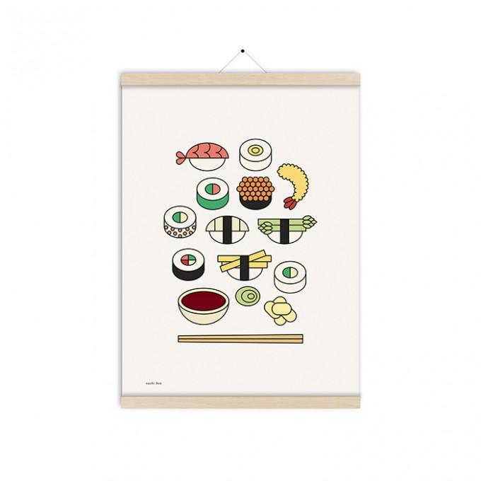 redfries sushi box a3 –Kunstdruck DIN A3