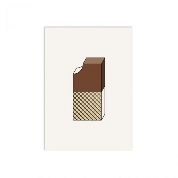 redfries sandwich – Postkarte DIN A6