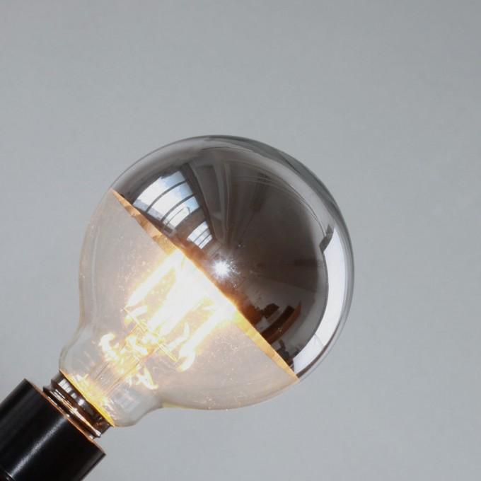 toshi LED Globe Ø 95 (verspiegelt, E27, 4W)