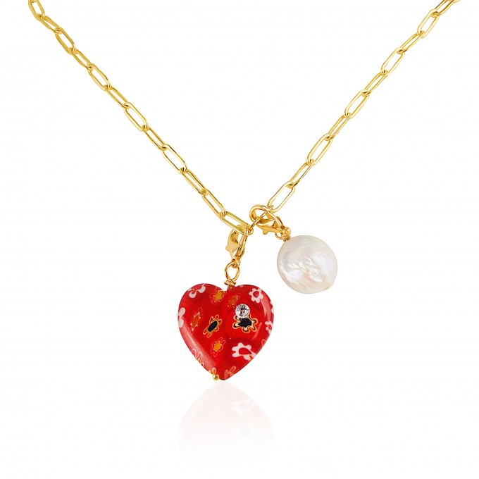 Valerie Chic - ALWAYS LOVE YOU Choker & Creolen - 18 Karat vergoldet