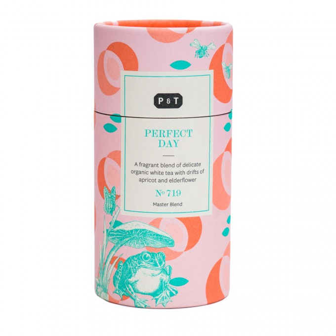 P & T - Perfect Day - aromatisierter Weißtee - Style Caddy 100g