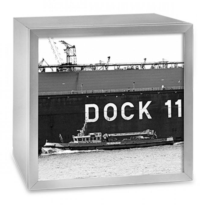 COGNOSCO Leuchtkasten - 37 x 37 cm: Dock 11 Hamburg