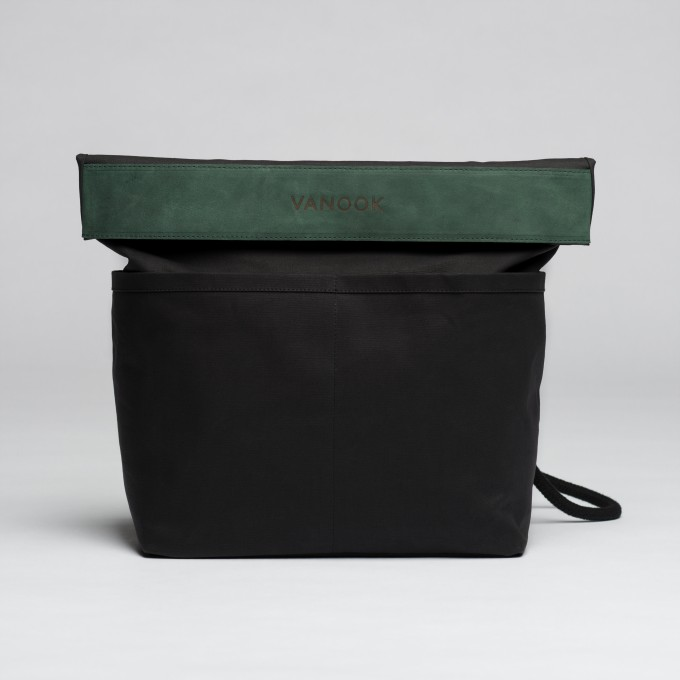 VANOOK Dual Backpack Charcoal / Malachite