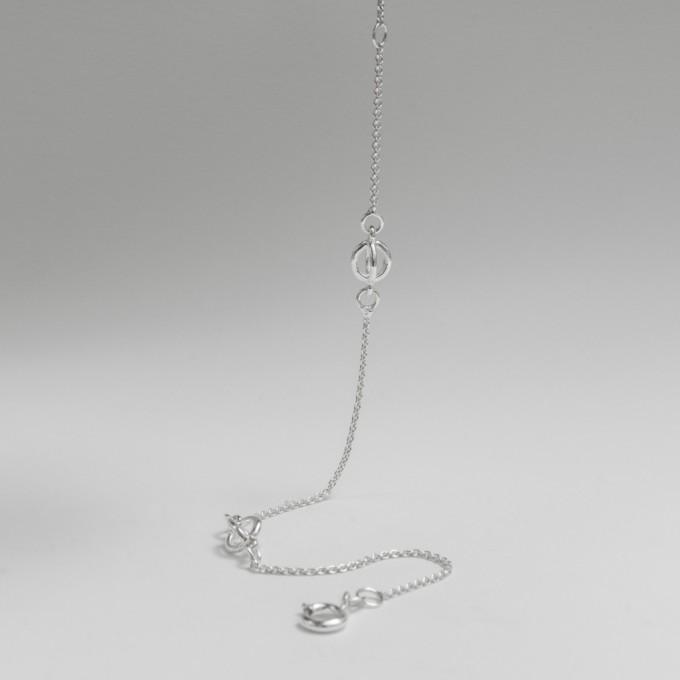 Jonathan Radetz Jewellery, Armband KISSKISS, Länge 17,5cm, Silber 925