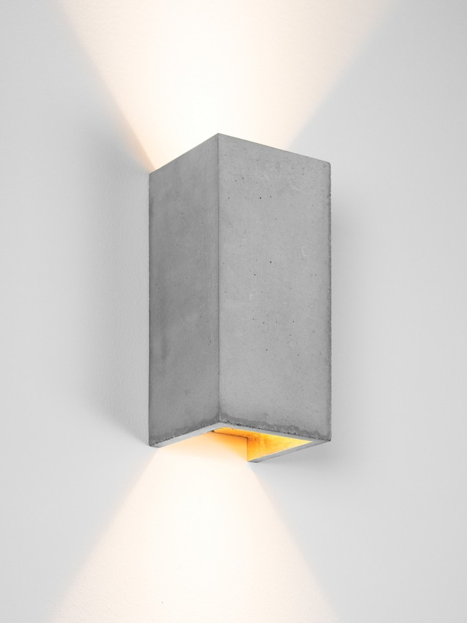 GANTlights [B8] Wandlampe rechteckig