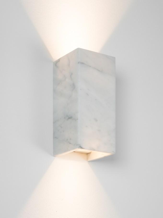 GANTlights [B8]carrara Wandlampe Marmor