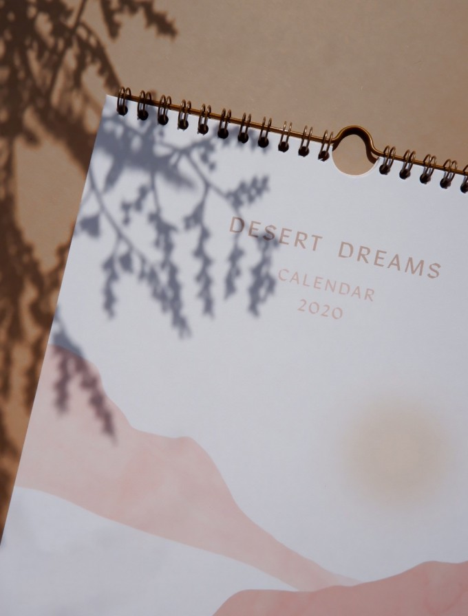 DESERT DREAMS CALENDAR 2020 - A4 Wandkalender - Anna Cosma