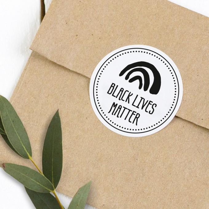 Kleine Papeterie // Black Lives Matter // Spenden-Sticker