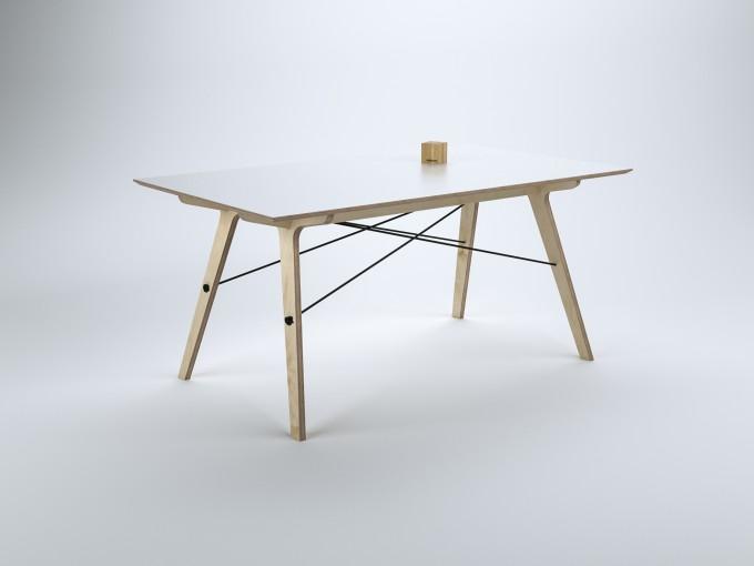 stückwerk plug(n)ply1 Tisch (150x90cm)