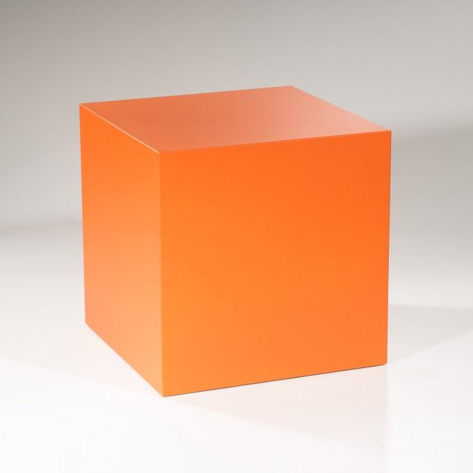 Lupadesign Pasch6 - orange - Beistelltisch, Couchtisch, Hocker