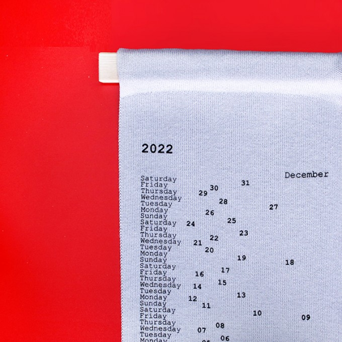 Kalender GREGOR 2022, der Strickkalender, Patrick Frey für DETAILS Produkte