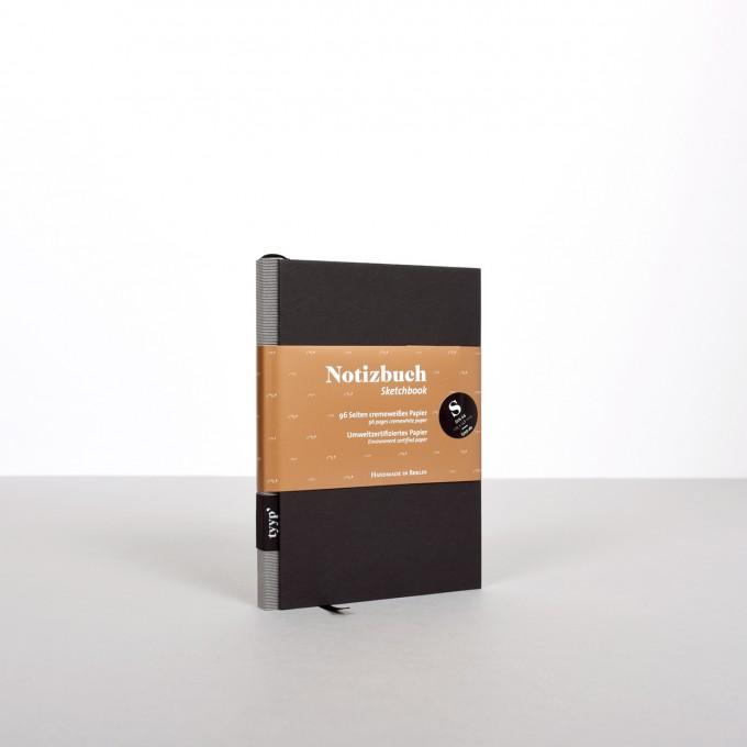 tyyp Notizbuch S (Schwarz)