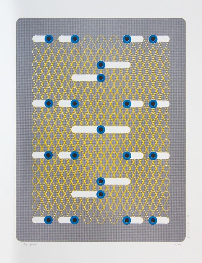 "form Edition #1 ""Risoprints by Sigrid Calon"", 2015, Illustration 3"