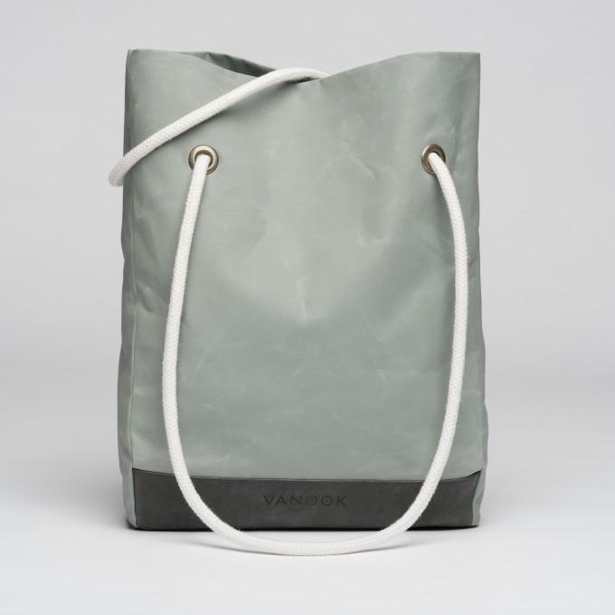 VANOOK Shopper Oyster / Stone