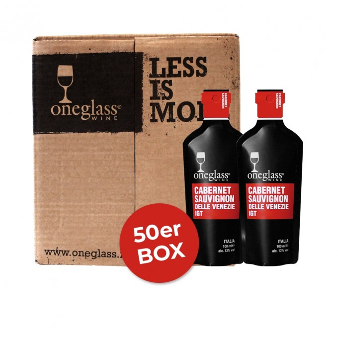 Carbernet Sauvignon Box ONEGLASS 100ml